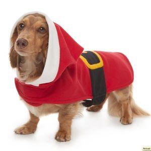 Pet Jammies Dog Santa Costume Pajamas